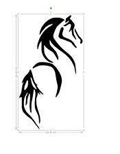 horse vinyl car sticker, decal, window laptop ORACAL 651