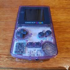 Nintendo Gameboy Color transparent Atomic Purple