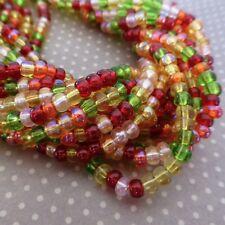 150 beads Czech Glass Beads 4.1mm Tango Mix SB6-MIX19