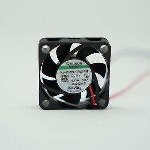 Sunon Lüfter 40x40x10mm HA40101V4-A99 DC 12V 9,00 m³/h MagLev Super-Silence