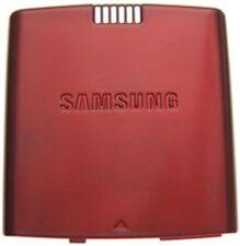 GENUINE Samsung Propel SGH-A767 BATTERY COVER Door RED GSM slider phone back