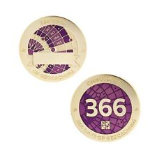 Challenges Geocoin and Tag Set - 366 Days of Geocaching Official Trackable