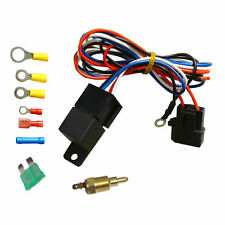 Wiring & 30 AMP Relay & Temperature Switch Kits For Electric Radiator Engine Fan