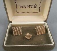DANTE Cufflinks Vintage Men's