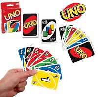 UNO Card Game Playing Cards Family Children Friends Party Indoor 108 GIFT UK FUN