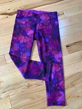 Active Life Purple Blend Yoga/Exercise Pants Sz Small Women Poly/Spandex Blend