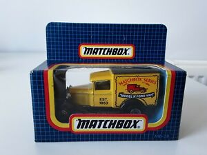 Vintage 1987 MATCHBOX MB-38 FORD MODEL A - NEW IN SEALED BOX