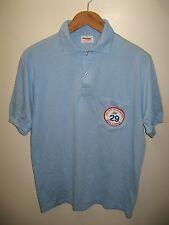 Nasa Space Congress Polo - 1992 Cocoa Beach Florida Rocket Thin Pocket Shirt Lrg