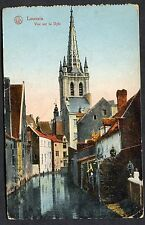 C1920's View of Canal going through Louvain, Belgium