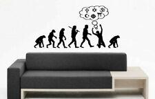 Wall Art Vinyl Sticker Decal Mural Decor Art Funny Man Evolution Religon  #1104