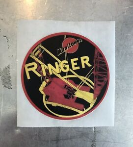 "Manitowoc Crane Hardhat Sticker 3"" Diameter - Ringer"