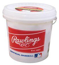Rawlings Official League Competition Grade Baseballs - Bucket Of 24 Base Balls