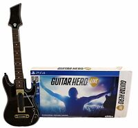 Sony PS4 Guitar Hero LIVE Wireless Controller + Box NO Dongle NO GAME Activision