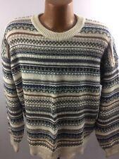 Florence Tricot Sweater Men's XL  Colorful Vintage 90's Vintage