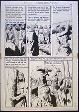 Original Art: Classics Illustrated The Queen's Necklace,p45, 1962 Bruno Premiani