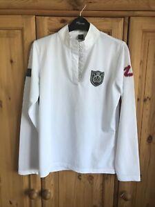 Horze show shirt Size 14