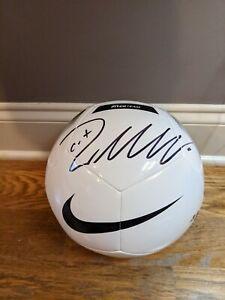 Cristiano Ronaldo cr7 Signed Nike Juventus Logo Soccer Ball COA football