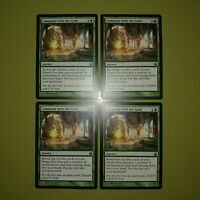 Commune with the Gods x4 Theros 4x Playset Magic the Gathering MTG
