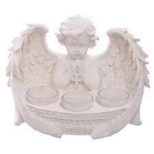 Cherub 3 Tea Light T Light Holder Votive Candle Angel Wings Home Deco Gift CHE55