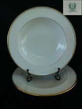 AS-IS Lenox T17 RIM SOUP BOWL (1 of 2 available) Gold Trim & Verge