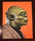 Yoda Star Wars Limited Edition Mike Mitchell MONDO Art Print Portrait SIGNED
