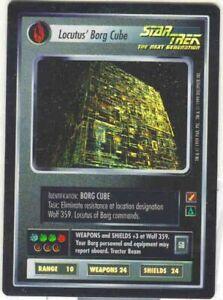 Star Trek CCG Locutus' Borg Cube Blaze of Glory BOG UR Foil