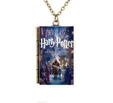 Miniature Harry Potter and the Philosopher/'s Stone Petit Livre Poudlard Collier