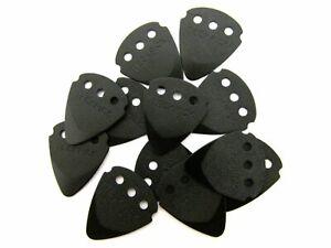 Dunlop Guitar Picks techpick (Tech Pick) en aluminium métal noir 467R.BLK.12 pcs