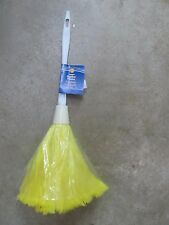 "Turkey Feather Duster 14""  Plastic Handle #300-98 NEW"