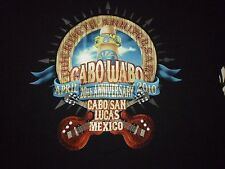 Cabo Wabo 20th Anniversary Shirt ( Size Xl ) New!