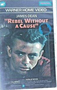 Vintage James Dean Rebel Without A Cause VHS