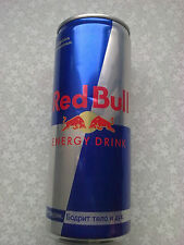 "Russia. Energy drink can empty 0,25 liter ""Red Bull"". 0,0% alcohol."