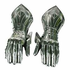 Medieval Knight Gauntlets Functional Armor Gloves Adult Medieval Glove