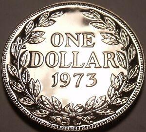 Liberia Dollar, 1973 Proof~RARE 11,000 Minted
