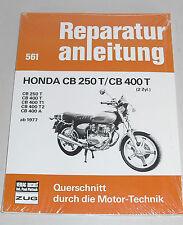 Reparaturanleitung Honda CB 250 T / CB 400 T Twin - ab Baujahr 1977