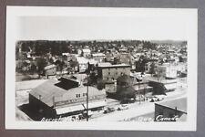 1950's Aerial View of Maniwaki, Quebec, Canada Postcard