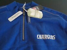 LOS ANGELES CHARGERS Onside Flip TOMMY BAHAMA  Reversible XL Sweatshirt Football