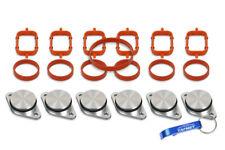 6 x 32 mm Drallklappen Swirl Flaps Dichtungen für BMW M57 E38 E39 E60 E46 E90