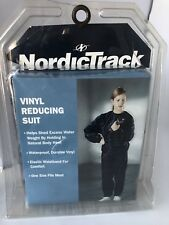 Vintage Nordic Track Vinyl Reducing Suit One Size Fits Most Health Fitness