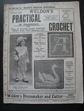 WELDON'S PRACTICAL CROCHET No. 334 (1910's) - Needlework Magazine