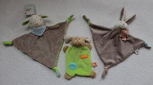 Fashy Little Stars 2 - er Set Schnuffeltuch Kuscheltuch Schmussetuch Hund