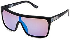 Authentic Spy Flynn Soft Matte Black Blue Spectra Sunglasses 670323973317
