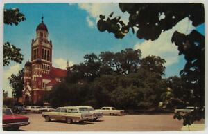 Lafayette St. John Cathedral Louisiana Postcard