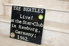 double Lp the beatles / Live at the star-club in hamburg, germany 1962