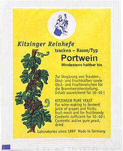1 Portwein Arauner Kitzinger Reinhefe; Weinhefe; Gärhefe; Trockenhefe