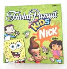 Trivial Pursuit Kids 'Nick' Edition Board Game For Kids Family (2-4 players)