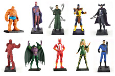 SET OF 10 CLASSIC MARVEL FIGURINE COLLECTION - EAGLEMOSS COMIC BOOK HEROES