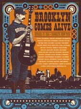 Brooklyn Comes Alive Concert Poster - Status Serigraph - AE - Limited Edition