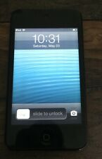 Apple iPod Touch 4th Generation 8GB - Black - bundle with TPU case