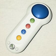 XBOX 360 Big Button Pad Color White & Blue Wireless Handheld Controller Tested